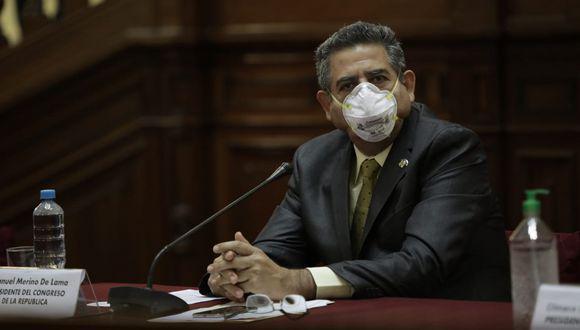 Todo un debate se ha armado debido a que Manuel Merino de Lama recibirá una pensión vitalicia, además de otros beneficios, como expresidente de la República. (Foto: Anthony Niño de Guzmán/GEC)