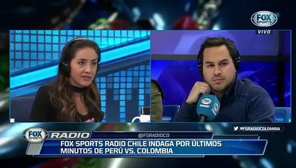 Periodista colombiana silenció a chilenos por supuesto 'pacto de Lima' (VIDEO)