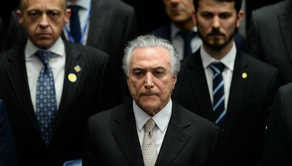 Michael Temer asumió la presidencia de Brasil tras salida de Rousseff