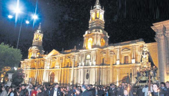 Venerable Hermandad de Caballeros del Santo Sepulcro celebrarán 150 años de creación siendo la más antigua del sur del país. (Foto: Difusión)