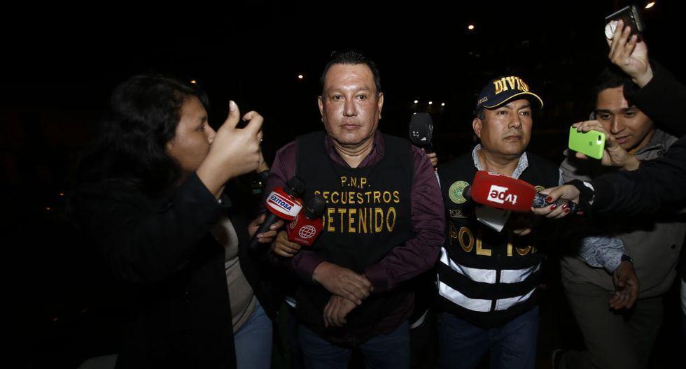 El exgobernador regional del Callao Félix Moreno fue capturado el lunes 11 de noviembre por la Policía Nacional del Perú (PNP) al interior de un inmueble ubicado en la Calle Pachacamac, en la manzana M, Lote 5B, en Cieneguilla. (Foto: Renzo Salazar/GEC)