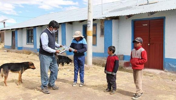 Más de 20 mil escolares abandonaron las clases virtuales en Puno