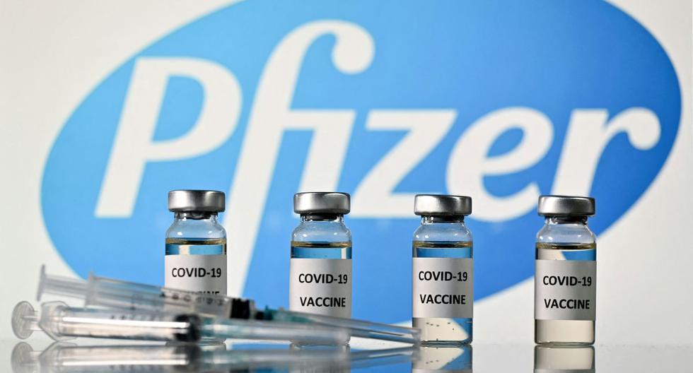 Imagen de la vacuna de Pfizer contra el COVID-19. (Foto: JUSTIN TALLIS).
