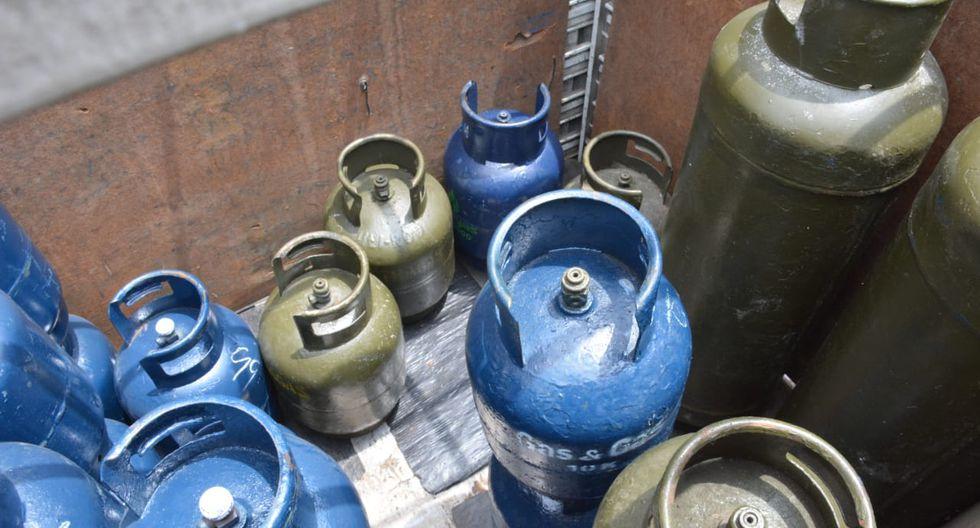 La Municipalidad de La Victoria clausuró tres locales de venta de gas doméstico por ser considerados de alto riesgo. (Foto: Municipalidad de La Victoria)