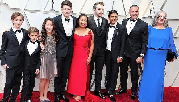Oscar 2019: La llegada del elenco Roma a la alfombra roja