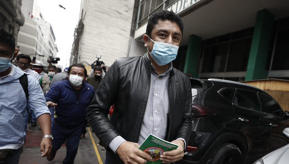 El congresista de Perú Libre cuestionó que se rechace la lista 3 a la Mesa Directiva que integraba su agrupación política.