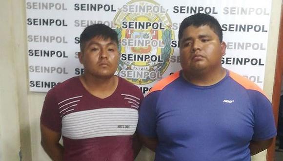 Detienen a dos hombres acusados de robar en una tienda comercial