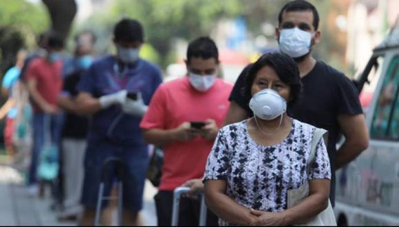 Más de 4800 empresas importaron mascarillas entre enero y setiembre (Foto referencial AFP)