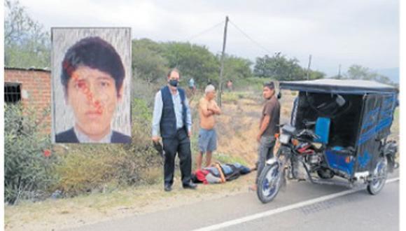 Una de las tragedias se registró en la carretera del distrito de Mórrope donde joven fue atropellado por un automóvil.