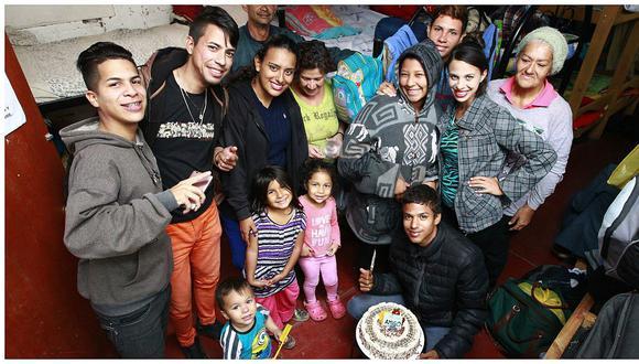"""Venezolanos en Perú: """"Aquí por lo menos comemos, allá en mi pueblo me dormía de hambre"""""""