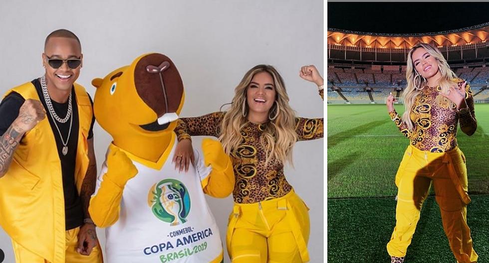 Karol G confirmó que cantará el tema oficial de la Copa América Brasil 2019