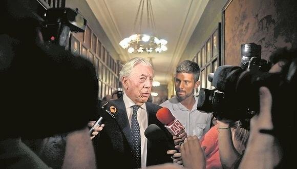 """Mario Vargas Llosa sobre Fujimori y García: """"Espero que el Perú no tenga que elegir entre dictadura y corrupción"""""""