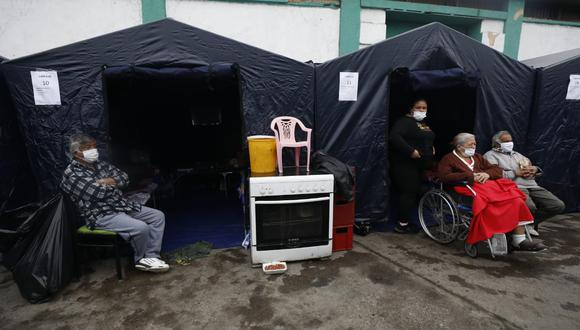 Esta es la situación de los damnificados por incendio en el jirón Callao (Foto: Diana Marcelo)