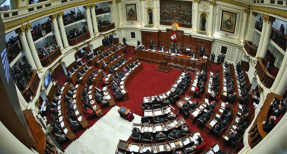Pleno del Congreso aprobó la conformación del cuadro de comisiones