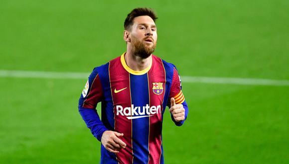 Lionel Messi termina contrato con FC Barcelona en junio de este 2021. (Foto: AFP)