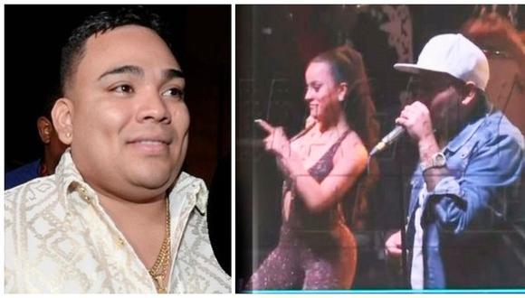 Josimar amenaza a reportero de Magaly Medina por grabarlo con bailarina (VIDEO)