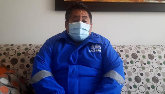 Apurímac: Gerente de EsSalud contrajo COVID-19 y su propio personal médico lo salvó (Foto: EsSalud)