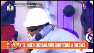 El Ingeniero bailarín reapareció en TV y sorprende a niño que lucha contra la leucemia (VIDEO)