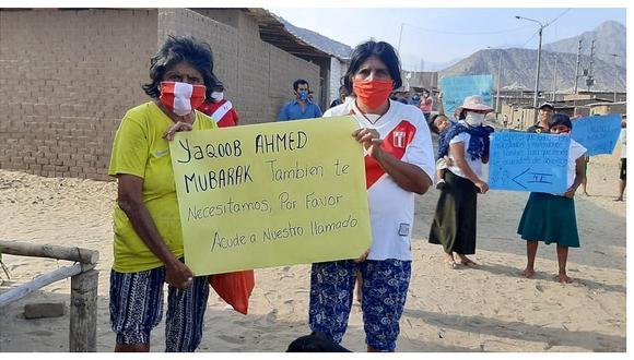 Trujillo: Pobladores piden que Yaqoob Mubarak les lleve alimentos