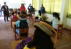 17 mil estudiantes volverán a las aulas en Ayacucho
