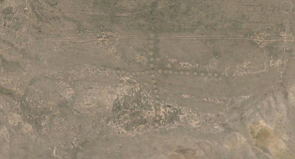 Hallan en Kazajistán geoglífos parecidos a Líneas de Nazca