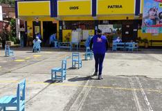 Huancavelica: Poca afluencia de ancianos durante segundo y tercer día de vacunación