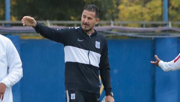 Daniel Ahmed es entrenador de Alianza Lima desde inicios de noviembre de este año. (Foto: Alianza Lima)