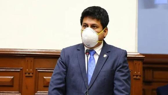 Leonardo Inga, congresista de Acción Popular, preside la comisión COVID-19. (Congreso)