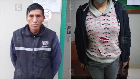 Intento de feminicidio en Chilca