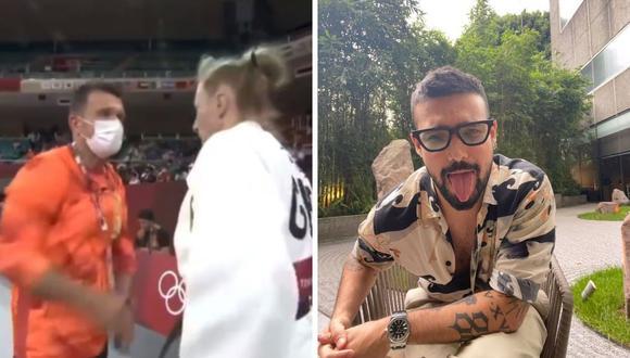 Ezio Oliva se burla de la escena que se vivió en las olimpiadas. (Foto: Instagram @eziooliva).