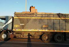 """Intervienen camión que transportaba juguetes """"bamba"""" por 120 mil soles"""