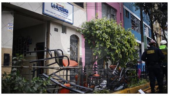 EsSalud emitió comunicado sobre heridos por explosión en restaurante (VIDEO)