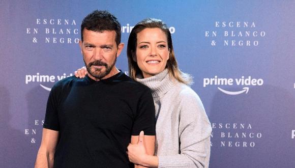 """""""Escena en blanco y negro"""", conducido por Banderas y la periodista María Casado, podrá ser visto en Amazon Prime Video desde el 15 de diciembre."""
