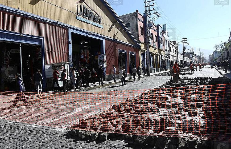 Cierre de San Juan de Dios genera caos vehicular en Arequipa