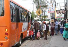 Municipio de Arequipa acuerda reanudar servicio de transporte, pero Comando Regional no decide