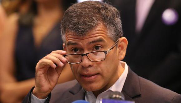 """Julio Guzmán: """"Congreso ya no tiene excusa para no darle voto de confianza al gabinete"""" (Foto: Rolly Reyna / El Comercio)"""