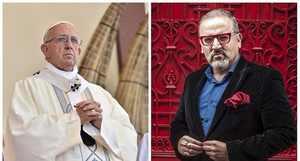 Beto Ortiz se vistió de papa y genera polémica en redes sociales (FOTOS)