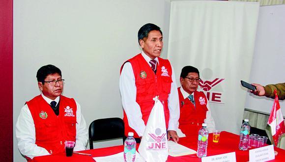 JEE de Puno proclamó resultados de Elecciones Congresales Complementarias 2020