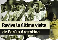 El último partido de la selección peruana en Argentina por Eliminatorias
