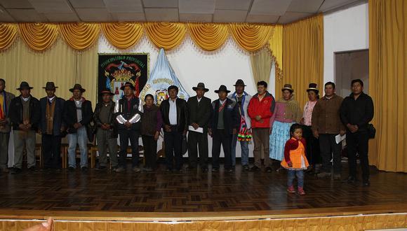 UNCA conformó comisión organizadora del VIII Congreso Aimara