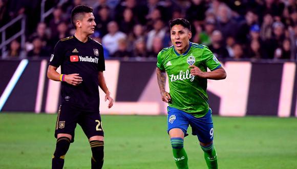 Ruidíaz marcó por segunda vez en la presente temporada de la MLS. (Foto: AFP)