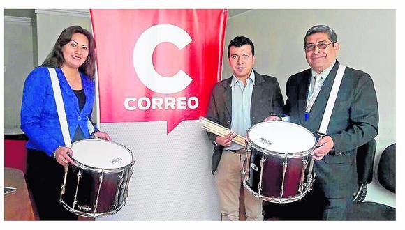 'Academías Zárate' se apunta con banda sinfónica del colegio Santa Isabel