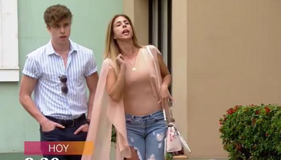 De vuelta al barrio anunció el ingreso de Fiorella Cayo como la mamá de 'Matteo Ganoza'. (Foto: Captura de video)