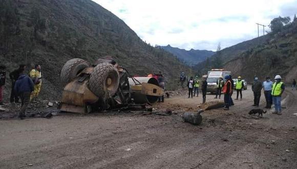 Compañeros rescataron al trabajador que murió camino al hospital