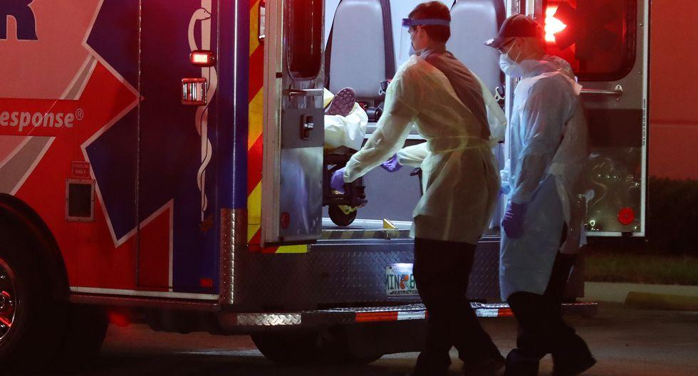 Estados Unidos: reportan 1169 muertos en un día por coronavirus  (Foto: AFP)