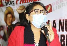 Congresista Margot Palacios en contra de la erradicación de la hoja de coca