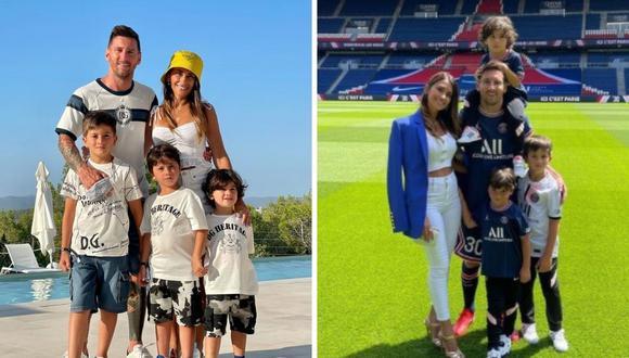 Esposa de Messi dedicó tierno y revelador mensaje por cumpleaños de su segundo hijo. (Foto: Instagram @antonelaroccuzzo / @leomessi)