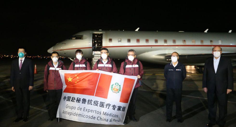 Además, Zamora enfatizó que el gobierno de China también ha entregado donaciones de equipos de protección personal para nuestros médicos. Foto: ANDINA/ Jhonel Rodríguez.