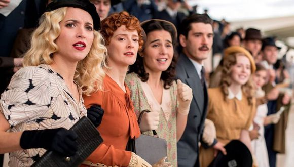 """Netflix estrena este viernes 3 de julio su quinta y última temporada de """"Las chicas del cable"""". (Difusión / Netflix)."""