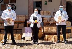 Cusco recibe donación de mil kits de medicamentos y 100 mil soles